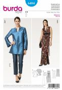 6484  Burda Pattern: Women's Evening Separates